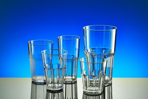 reusable plastic glasses for caipirinha