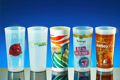 Reusable cups printing