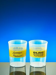 Cup printing example DLRG